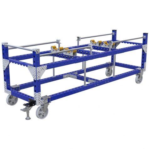 Custom cylinder cart