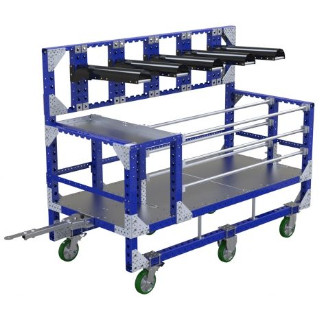 Large custom kit cart