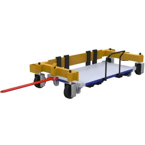 Pallet cart for C -Frame - 1260 x 2520 mm