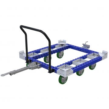 Pallet Tugger Cart - 1260 x 1260 mm