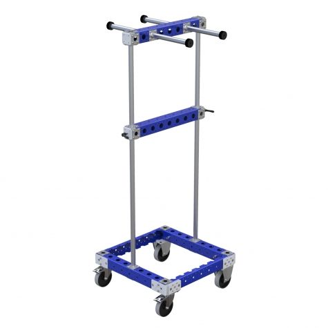 Two Sided Hose Cart - 630 x 630 mm