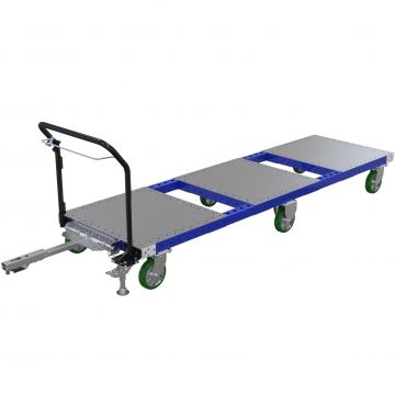 Extra long tugger cart