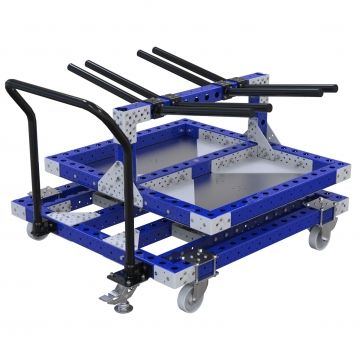 Rotating Cart w. Hangers - 1120 x 1190 mm