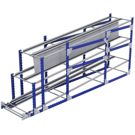 Flow Rack - 875 x 4270 mm