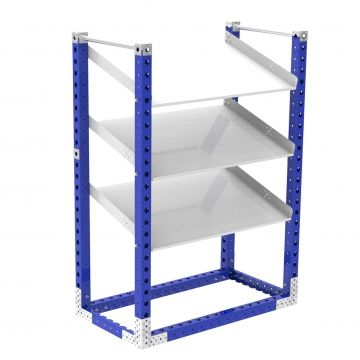 Flow Shelf Rack - 700 x 1260 mm