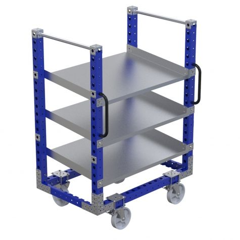 Flow Shelf Cart (770 x 1190 mm)