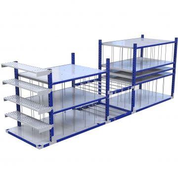 Custom Shelf Cart - 1400 x 5600 mm