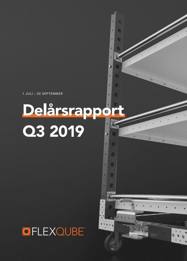 FlexQubes delårsrapport för fjärde kvartalet 2019