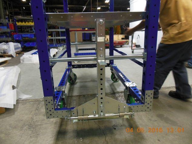 Flat Shelf Cart