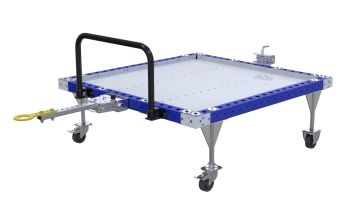 AGV pallet cart.