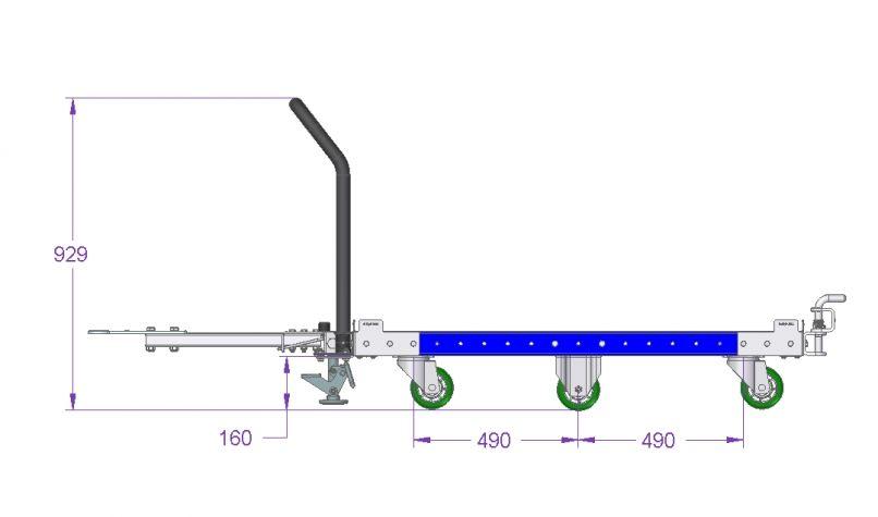 Tugger Cart 52 x 49 inch