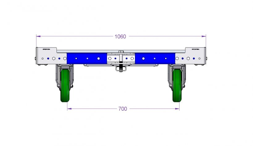 Heavy Duty Cart 1050 x 1260 mm