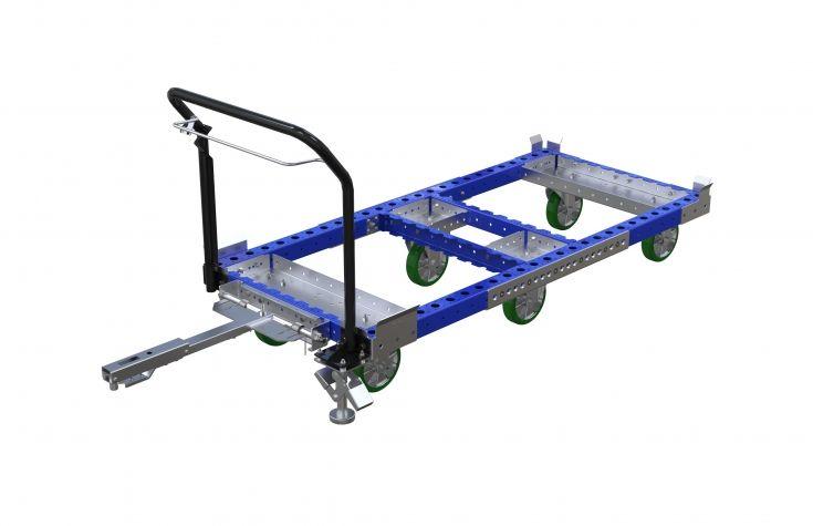 H-Pallet Tugger Cart 1820 x 840 mm