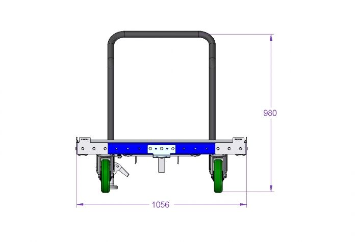 Pallet Cart 48 x 40 inch