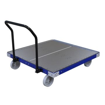 Heavy-duty pallet cart.