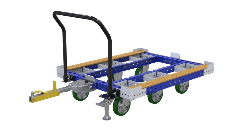 Tugger Cart for containers