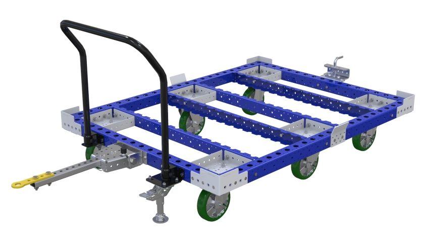Large tugger cart
