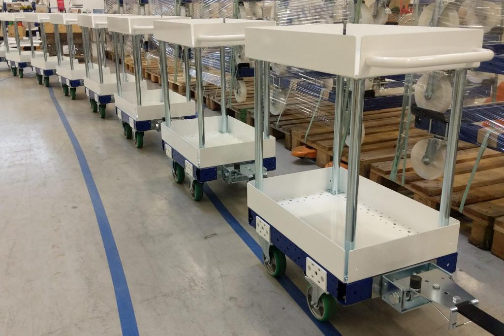 Meet the FlexQube carts
