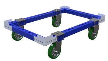 Base cart for pallets
