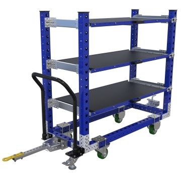 Flat Shelf Cart - 630 x 1540 mm