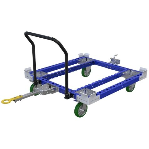 pallet trolley designed to transport pallets & containers.