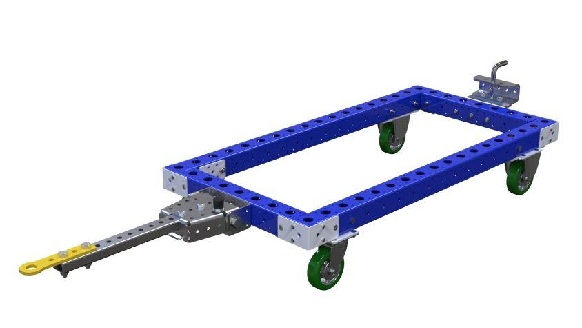 Standard tugger cart.
