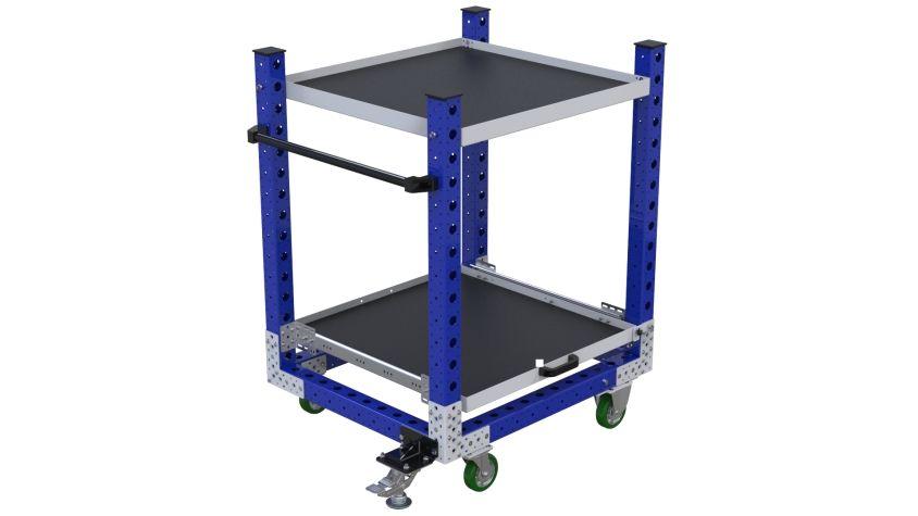 Extendable Shelf Cart – 840 x 980 mm