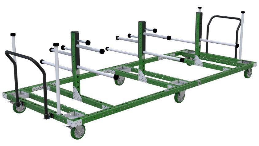 Hanging Cart – 1540 x 3990 mm