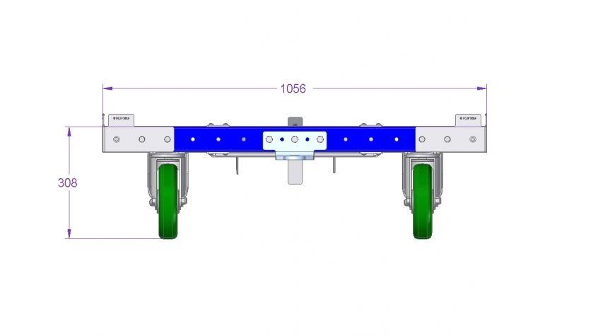 Tugger Cart 1260 x 1050 mm