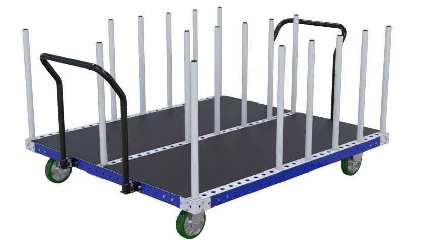 Packaging Cart for narrow panels