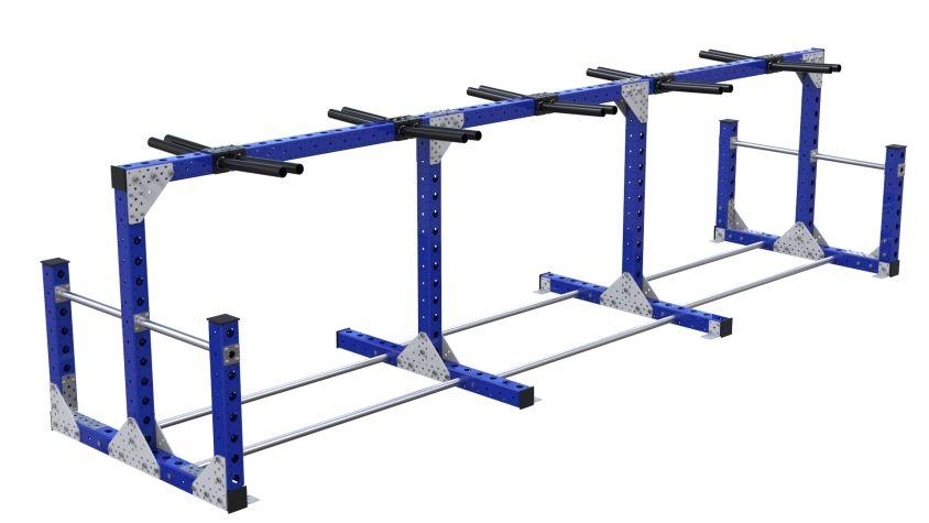 Hanging Rack – 1050 x 4060 mm