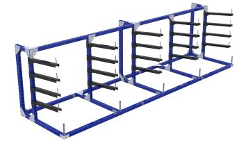 Tube Rack - 1400 x 5530 mm