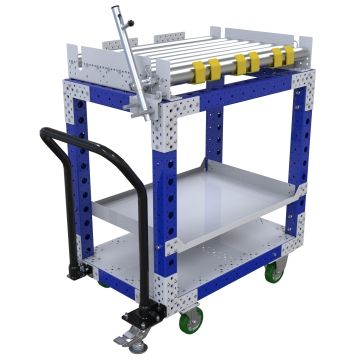 Conveyor cart from FlexQube