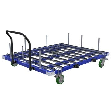 Custom designed roller cart