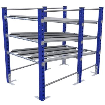 Custom designed roller rack