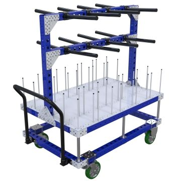 Custom kit cart