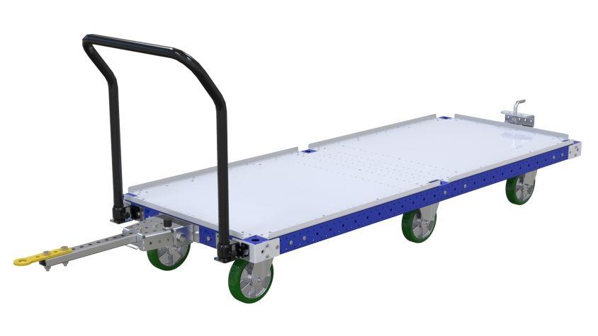 Flat Deck Tugger Cart - 840 x 2170mm