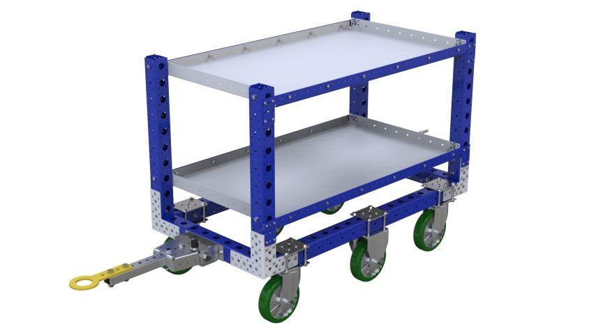 Shelf Tugger Cart