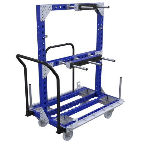 Kit Cart w.Hangers - 770 x 1190 mm