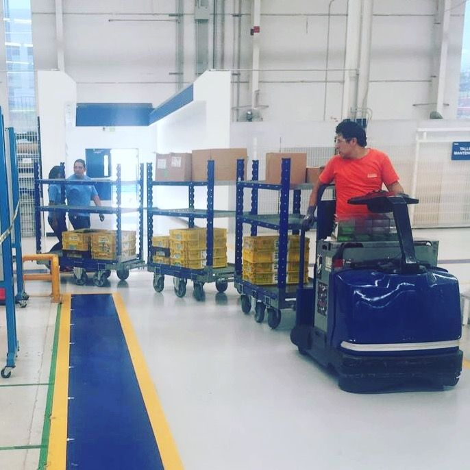 Flat Shelf Cart 1260 x 700 mm