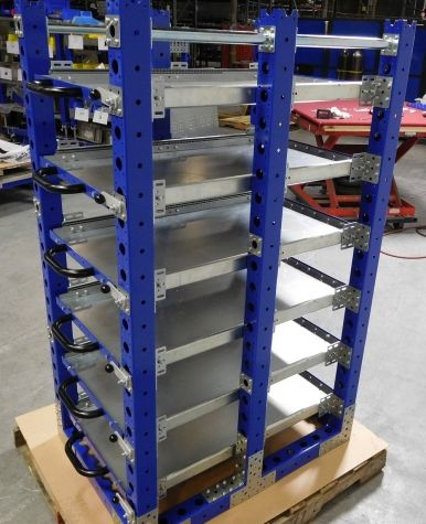 Extendable Shelf Rack 980 x 700 mm