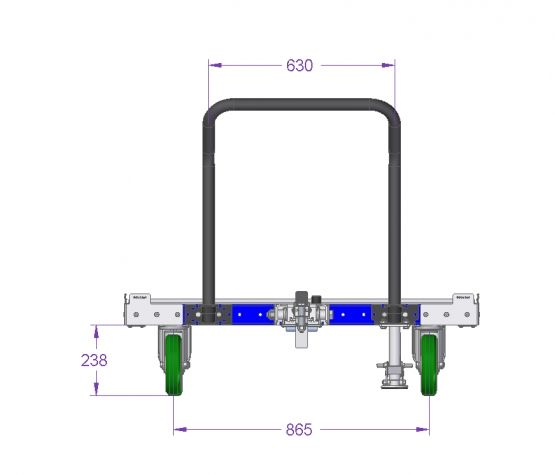 Tugger Cart - 50 x 47 inch