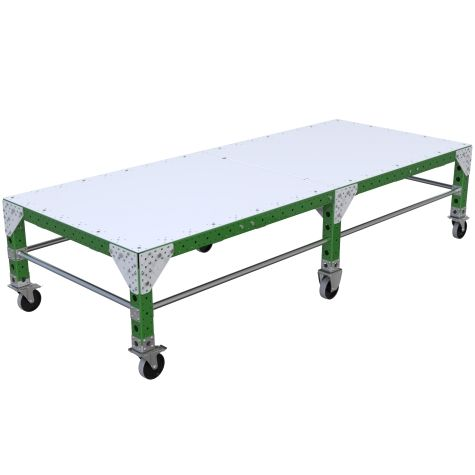 Large robust assembly table