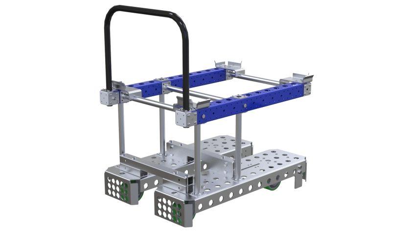CUstom designed pallet cart