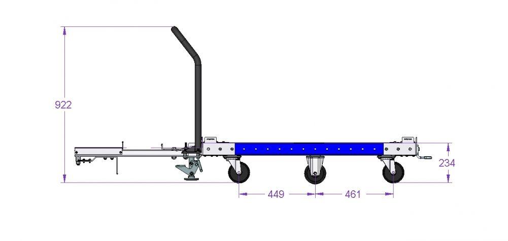 Tugger Cart 48 x 33 inch