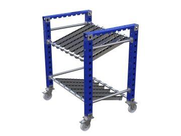 Tote rack cart