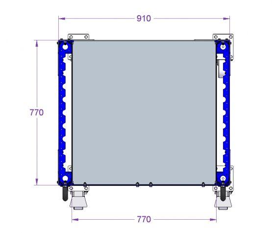 Totes Cart for E-frame