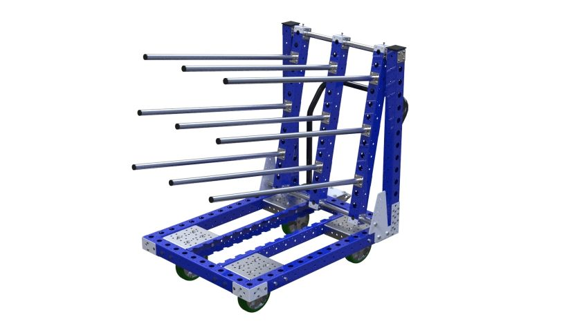 Hanging Cart with long hangers