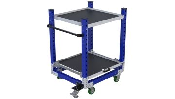 Extendable Shelf Cart – 840 x 980 mm