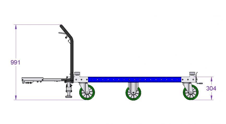 Tugger Cart 1610 x 1260 mm